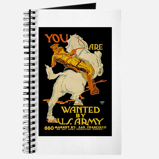 US Army You Are Wanted WWI Propaganda Journal