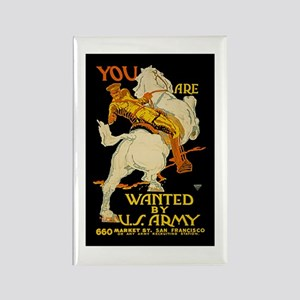 US Army You Are Wanted WWI Propa Rectangle Magnet