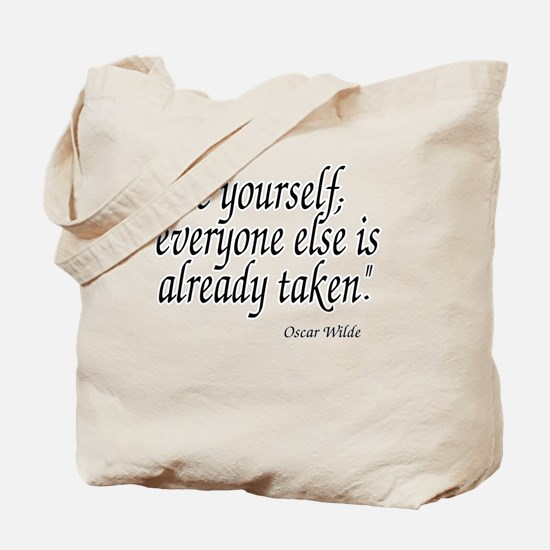 Cute Quotes wilde Tote Bag