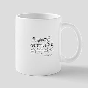 Oscar Wilde Quote Mugs