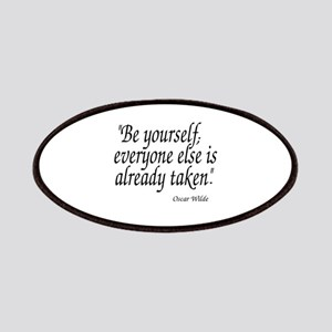 Oscar Wilde Quote Patch