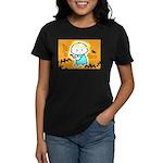 Baby Jesus Halloween Hell Women's Dark T-Shirt