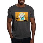 Baby Jesus Halloween Hell Dark T-Shirt
