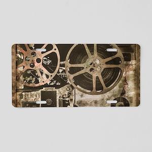 Multimedia Aluminum License Plate