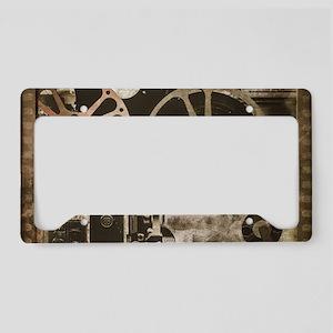 Multimedia License Plate Holder