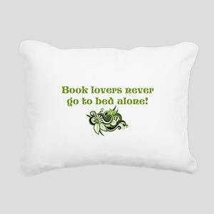 Book Lovers Rectangular Canvas Pillow