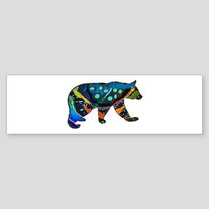 BEAR VIBRANCE Bumper Sticker