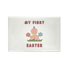 Easter Baby Rectangle Magnet