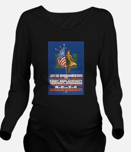 US Army Join the En Long Sleeve Maternity T-Shirt