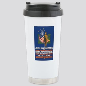 US Army Join the Engin Stainless Steel Travel Mug