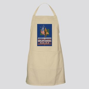 US Army Join the Engineers WWI Propaganda Apron