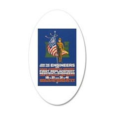 US Army Join the Engineers Wall Decal