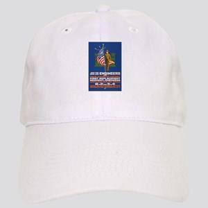 US Army Join the Engineers WWI Propaganda Cap