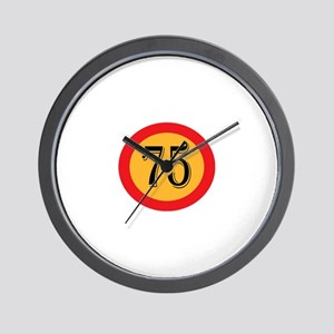 Number 75 Wall Clock