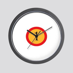 Number 1 Wall Clock