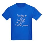 I will be a survivor Kids Dark T-Shirt