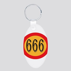 Number 666 Keychains