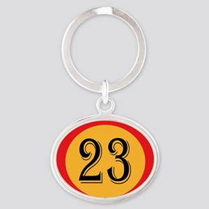 Number 23 Keychains