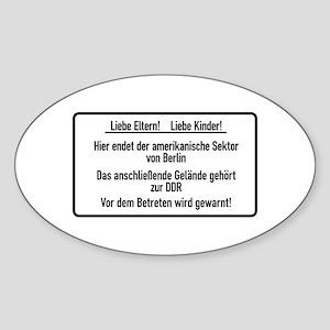 Liebe Eltern & Kinder, Cold War Berlin Sticker (O