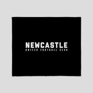 Newcastle United Football Club Throw Blanket