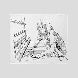 weaving Throw Blanket