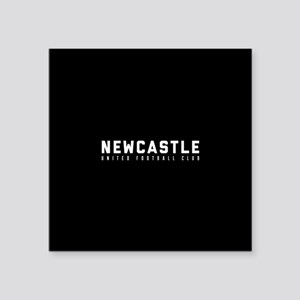"Newcastle United Football C Square Sticker 3"" x 3"""