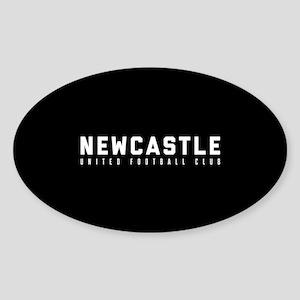 Newcastle United Football Club Sticker (Oval)