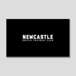 Newcastle United Football Club Car Magnet 20 x 12
