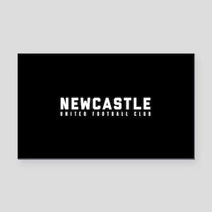 Newcastle United Football Clu Rectangle Car Magnet