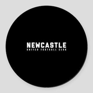 Newcastle United Football Club Round Car Magnet