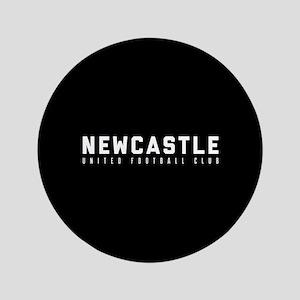 "Newcastle United Football Club 3.5"" Button"