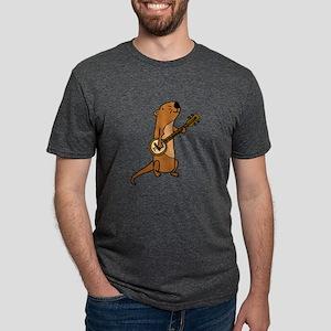 Sea Otter Playing Banjo T-Shirt