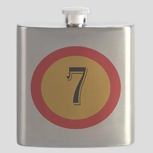 Number 7 Flask