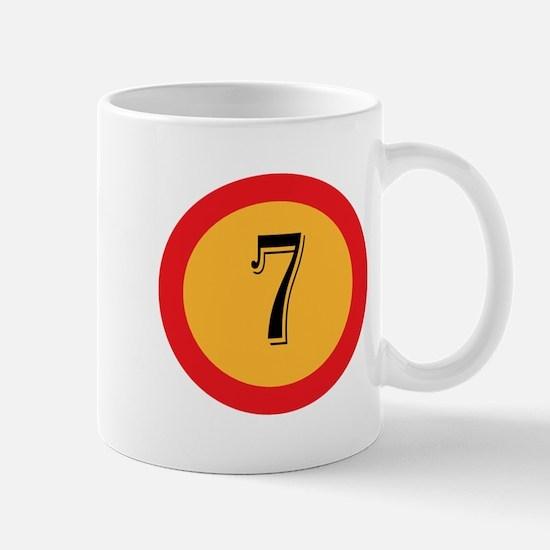 Number 7 Mugs