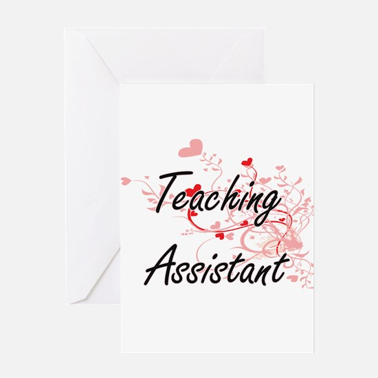 Teaching Assistant Artistic Job Des Greeting Cards