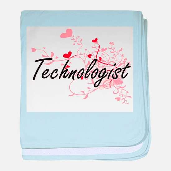 Technologist Artistic Job Design with baby blanket