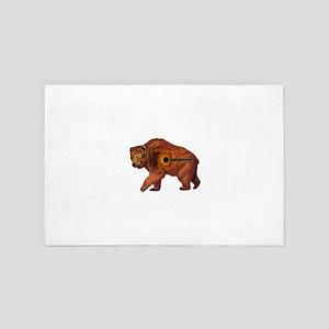 BEAR TAR 4' x 6' Rug