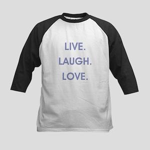 LIVE, LAUGH, LOVE. Baseball Jersey