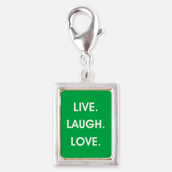LIVE, LAUGH, LOVE. Charms