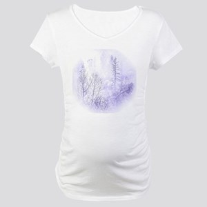 Waiting For Snow Maternity T-Shirt
