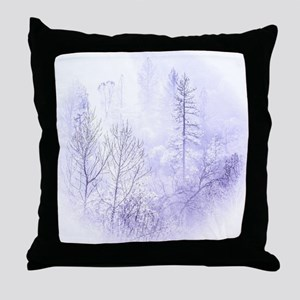 Waiting For Snow Throw Pillow