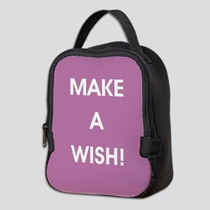 MAKE A WISH! Neoprene Lunch Bag