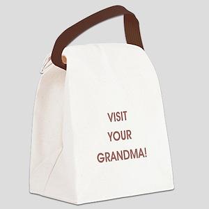 VISIT YOUR... Canvas Lunch Bag