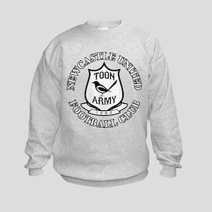 NUFC and Crest Kids Sweatshirt