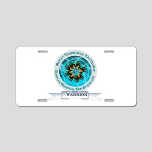 CRPS RSD Warrior Starburst Aluminum License Plate