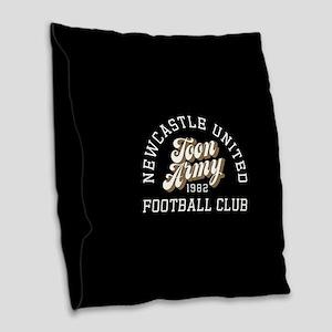 Newcastle Toon Army Burlap Throw Pillow