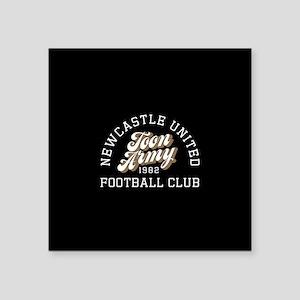 "Newcastle Toon Army Square Sticker 3"" x 3"""