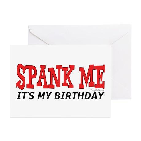Spank Me Greeting Cards (Pk of 20)