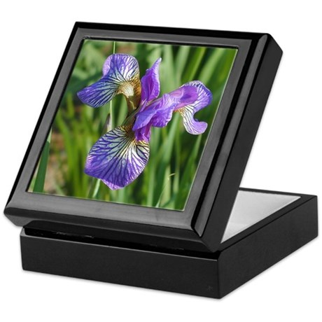 Siberian Iris<br>Shaker's Prayer<br>Keepsake Box