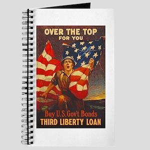 US War Bonds Top Third Liberty Loan WWI Pr Journal